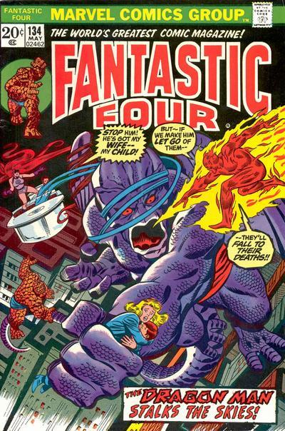 Fantastic Four Vol. 1 #134
